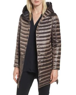 Reversible Down & Feather Fill Puffer Jacket