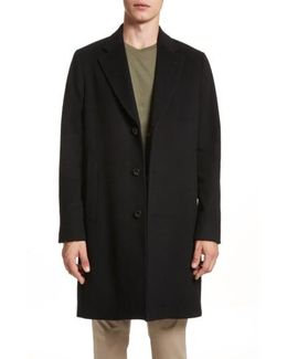 Wool & Cashmere Car Coat