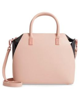 Small Ashlee Leather Tote Bag