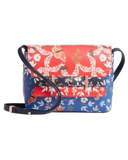 Gilda Kyoto Gardens Faux Leather Crossbody Bag