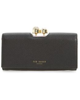 Marta Bobble Matinee Leather Wallet