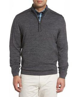 Henry Quarter Zip Wool Blend Pullover