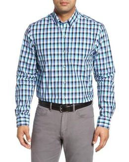 Sawyer Non-iron Check Sport Shirt