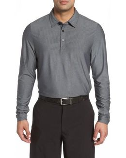 Cunningham Stripe Jersey Polo