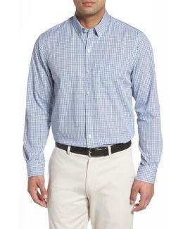 Easton Non-iron Plaid Sport Shirt