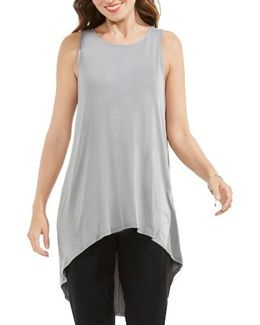 Sleeveless High/low Top