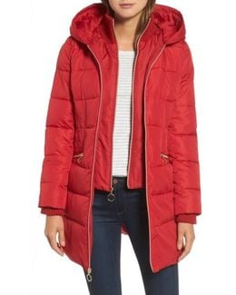 Hooded Quilted Parka