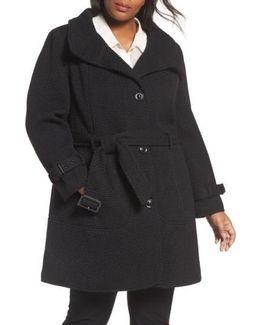 Waffle Woven Coat