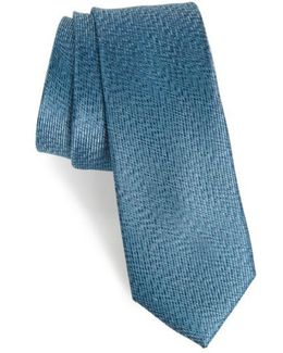 Heathered Solid Silk Tie
