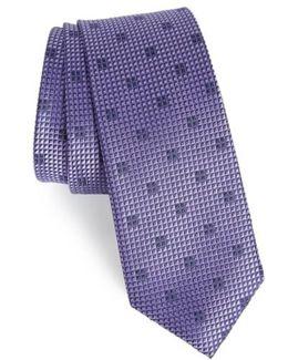 Classic Neat Silk Tie