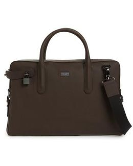 Ozboz Leather Briefcase