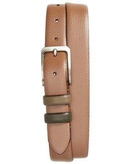 Shrubs Leather Belt