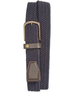 Gerbera Marled Woven Stretch Belt