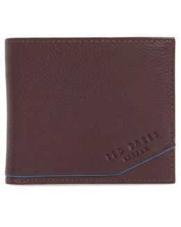 Persia Leather Wallet - Purple