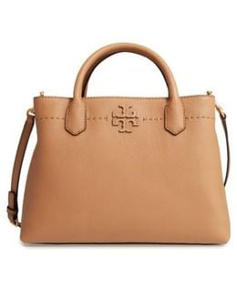 Mcgraw Leather Tote