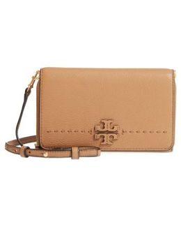Mcgraw Leather Crossbody Wallet