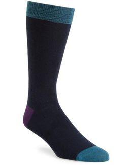 Gele Colorblock Socks