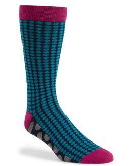 Spot Organic Cotton Blend Socks