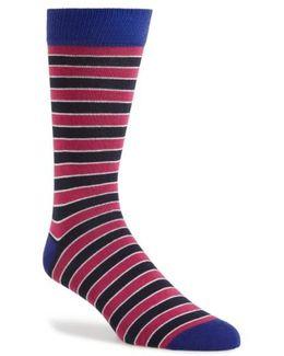 Rousse Stripe Socks