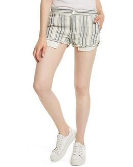Night Moves Stripe Shorts