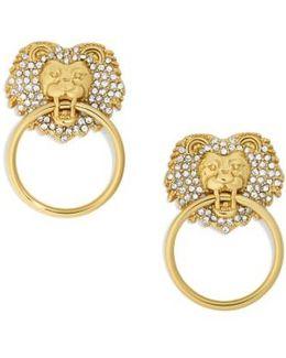 Panthera Doorknocker Earrings