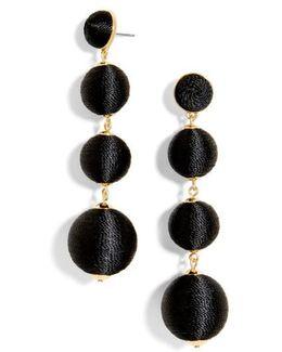 Criselda Ball Shoulder Duster Earrings