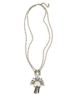 Torrence Crystal Necklace