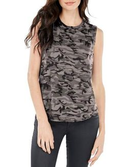 High/low Muscle Tee