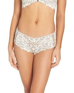 Romeo & Juliette Cheeky Lace Boyshorts