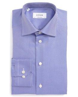 Contemporary Fit Stripe Dress Shirt