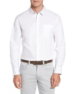 Capeside Herringbone Sport Shirt