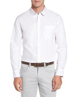 Capeside Herringbone Sport Shirt