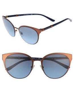 55mm Cat Eye Sunglasses - Bronze