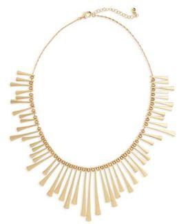 Bar Bib Necklace