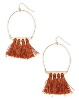 Tassel Hoop Earrings