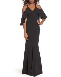 Naomi Cold Shoulder Gown