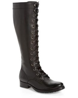 Melissa Tall Lace-up Boot