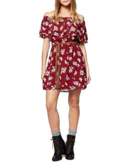 Skylar Off The Shoulder Floral Dress