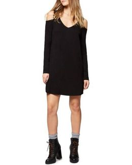 Morgan Cold Shoulder T-shirt Dress