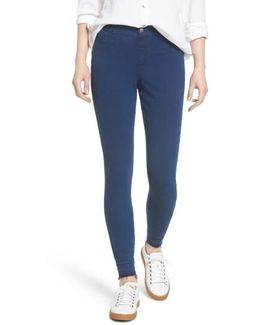 Selvage Edge Skimmer Leggings