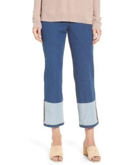 Crop Denim Pants