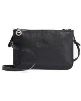 Le Foulonne Leather Crossbody Bag