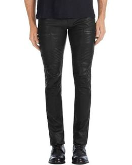Acrux Skinny Leg Leather Pants