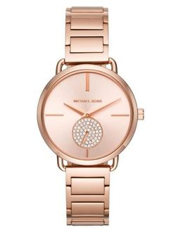 Portia Round Bracelet Watch
