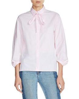 Tie Neck Shirt