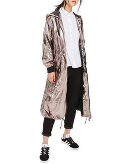 Tiny Dancer Metallic Duster Jacket