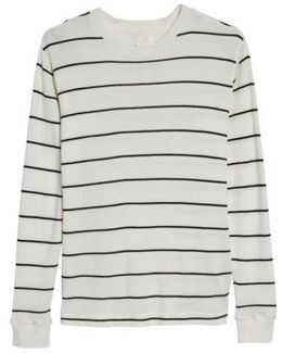 Neutral Stripe Thermal T-shirt