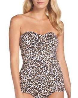 Cat's Meow Twist One-piece Swimsuit