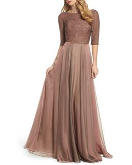 Embellished Bodice Gown