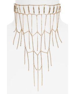 Ladder Collar Necklace